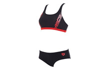 Arena Women&#039;s Race two pieces black/hip rose